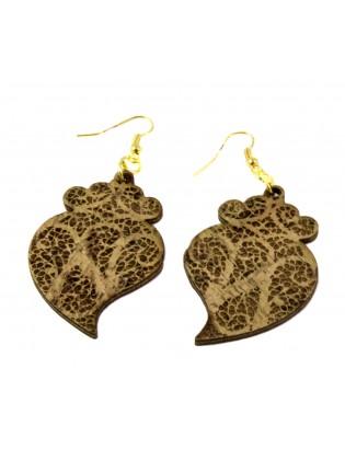 Boucles d'oreilles coeur de Viana