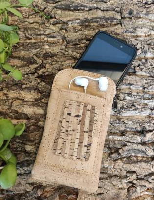 Etui téléphone bambou