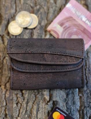 Porte monnaie Tavira brun