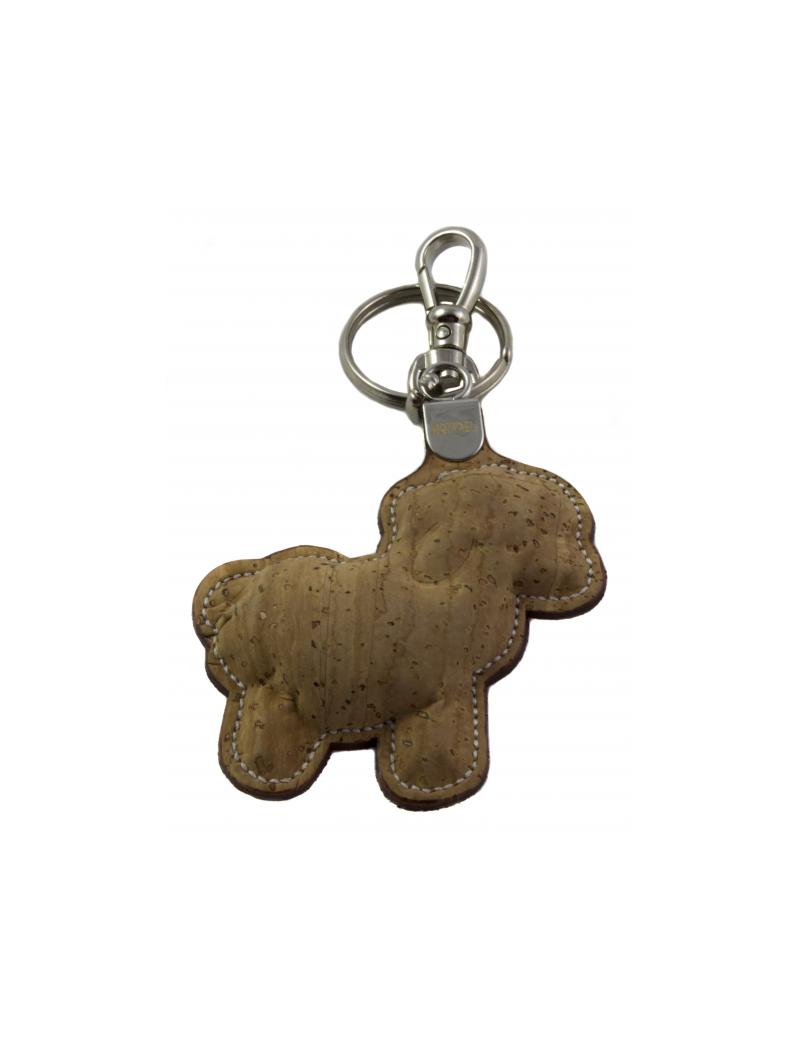 Porte-clés silhouette mouton