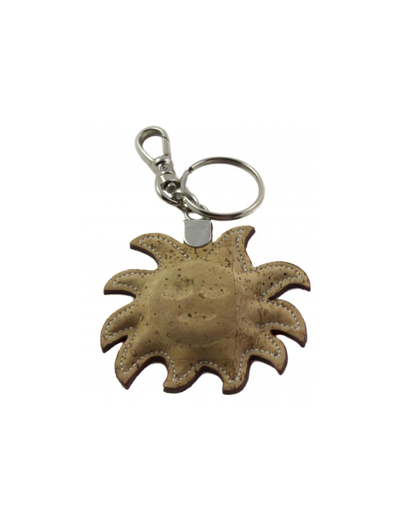 Porte-clés silhouette soleil