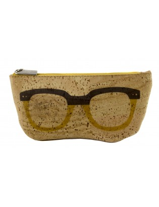 Etui à lunettes oculos jaune