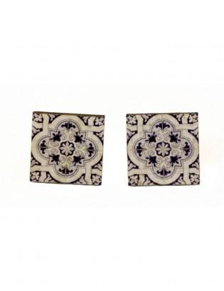 Boucles d'oreilles azulejo