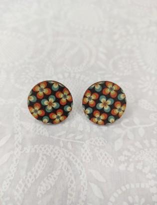 Boucles d'oreilles Buddleia