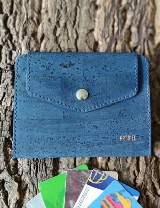 Porte  carte Onor bleu