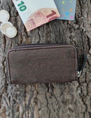 Porte-monnaie Loulé brun
