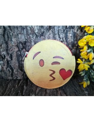 Porte-monnaie Smiley Bisou
