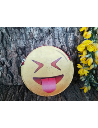 Porte-monnaie Smiley Taquin