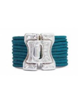 Bracelet fil turquoise 1