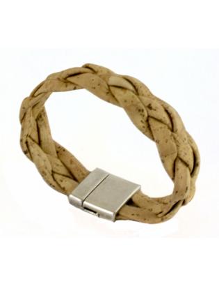 Bracelet large tressé...