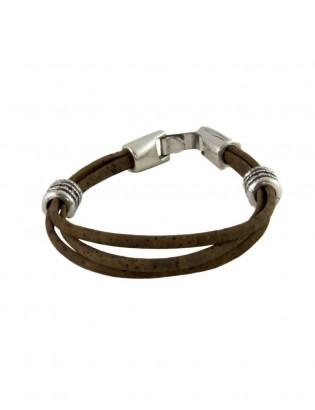 Bracelet Kawan brun