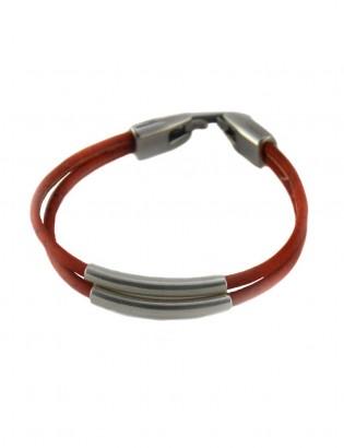 Bracelet tube orange