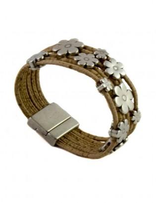 Bracelet pâquerettes