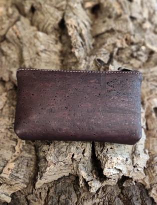 Porte-monnaie Coïmbra brun