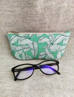 Etui à lunettes tropical