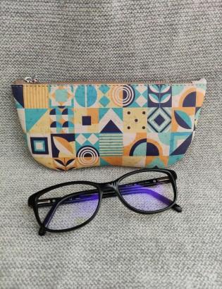 Etui à lunettes mosaïque
