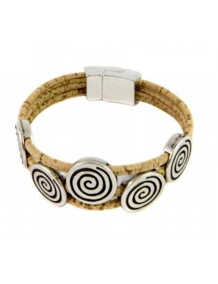 Bracelet grande spirale